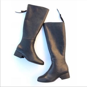 Lucky Brand Lanesha Over The Knee Boots Black